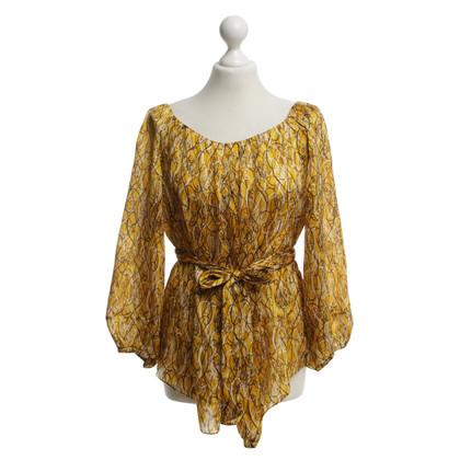 Diane von Furstenberg blouse gekleurd