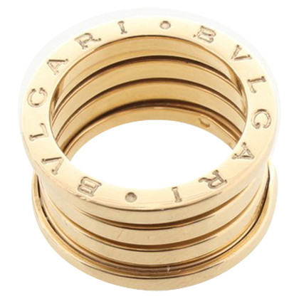 Bulgari Bague « Zero-B » en or jaune