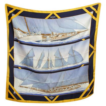Hermès Silk scarf ,, Rafales '' - Print