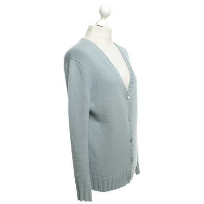 Allude Vest in Light Blue