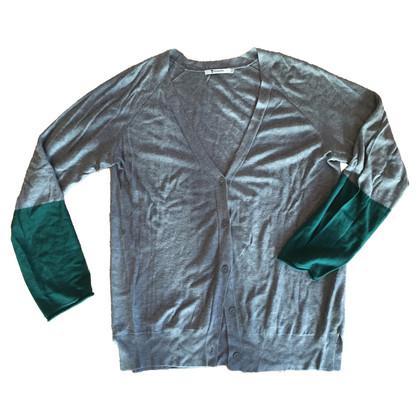 T by Alexander Wang Vest in grijs en groen