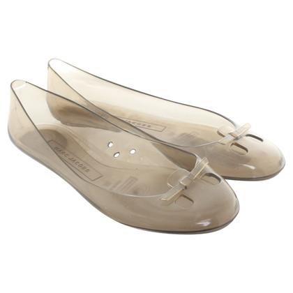 Marc Jacobs Transparant Ballerina's