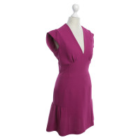 Sandro Dress in magenta