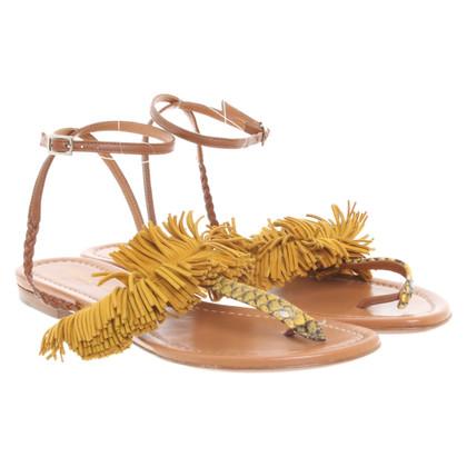 Other Designer Visconte & Du Reau- Sandals in yellow