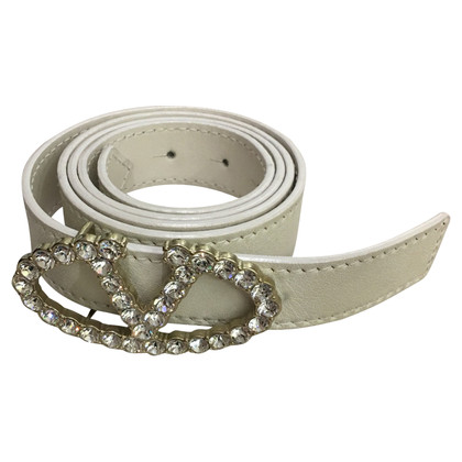 Valentino White belt