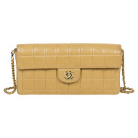 "Chanel ""East West Flap Bag"""