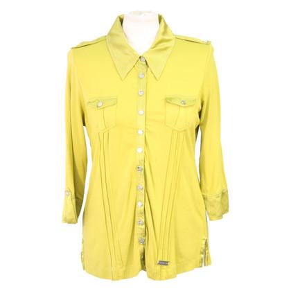 Karen Millen Blouse in green yellow