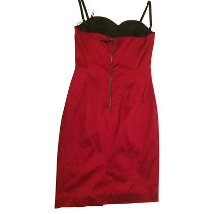 D&G shinny red dress