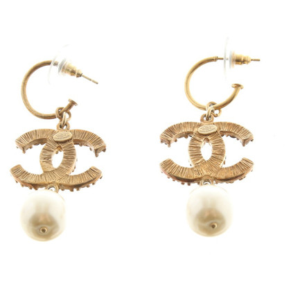 Chanel Gilded Studs