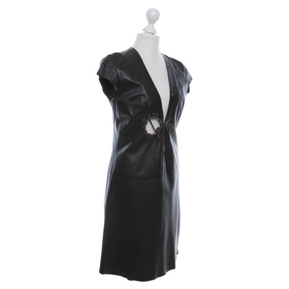 Other Designer Dirk Bikkembergs - Leather Dress