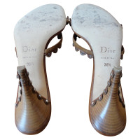Christian Dior Brown Mules