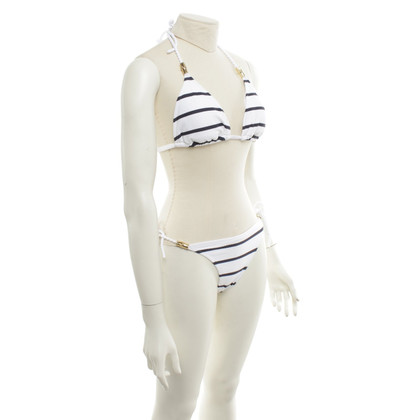 Heidi Klein Bikini with stripe pattern