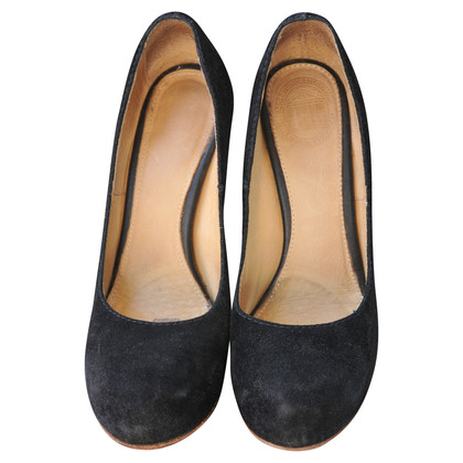 Acne In camoscio Plateau pumps