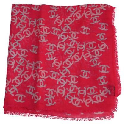 Chanel Doek cashmere / zijde