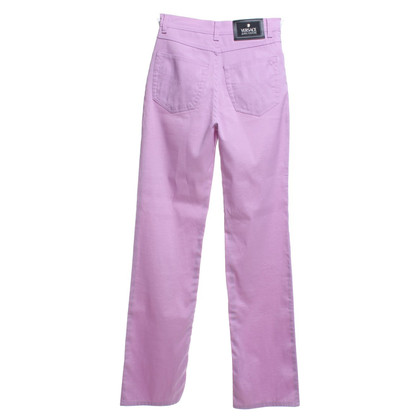Versace trousers in pink
