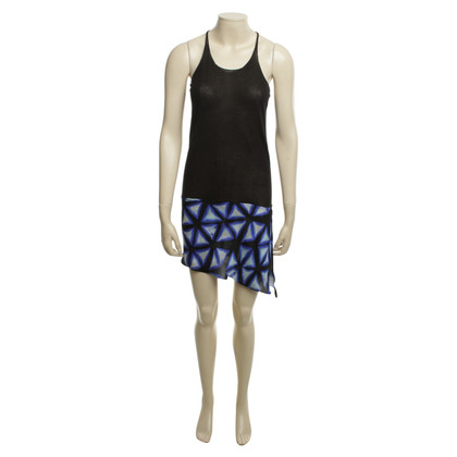 Roberto Cavalli Short dress with print detail