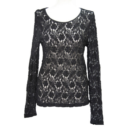 Calvin Klein Lace top in black