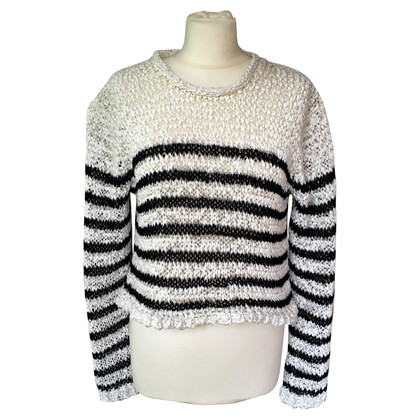Alexander Wang Short coarse knit sweater