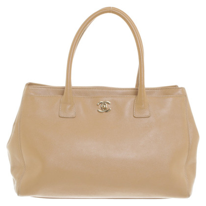 """Chanel """"Cerf Tote"""" in beige"""
