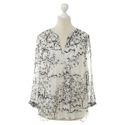 Diane von Furstenberg Chiffon blouse