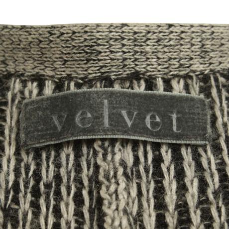 Velvet Strick Schwarz Velvet in Strick Wei Cardigan 8CwT6qg5