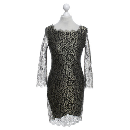 "Diane von Furstenberg Brass colored lace dress ""Zarita"""