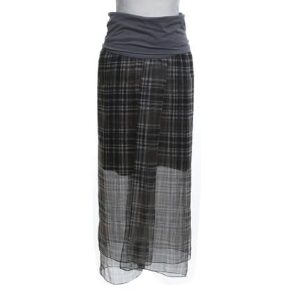 Brunello Cucinelli Bandeau-Kleid mit Muster