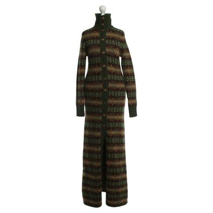 Ralph Lauren manteau tricoté avec motif norvégien
