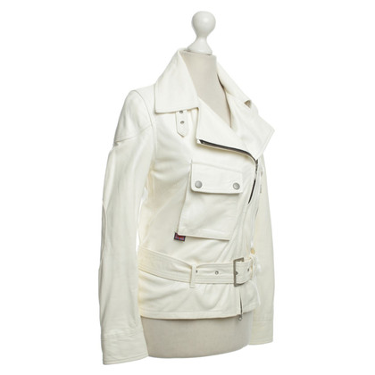 Belstaff Leather jacket in cream