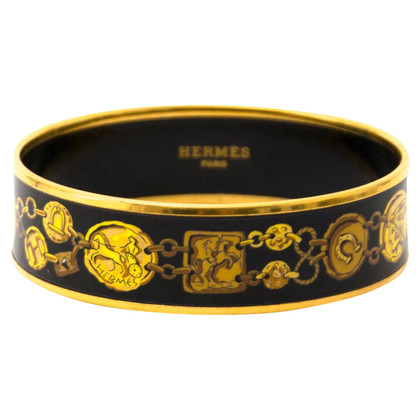 "Hermès ""H Chaine Kavalla"" bangle"