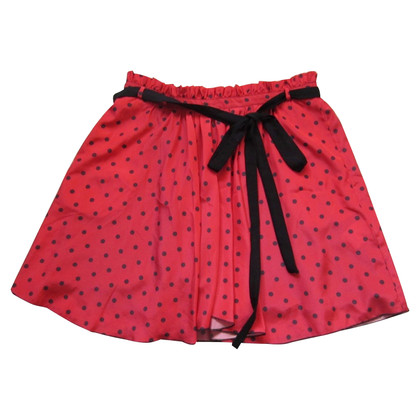 MSGM skirt with polka dots