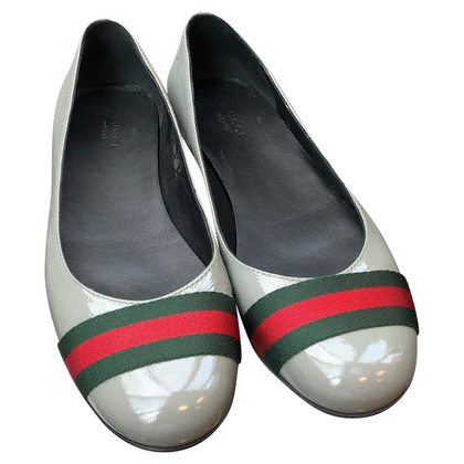 Gucci Ballerina's patent leather