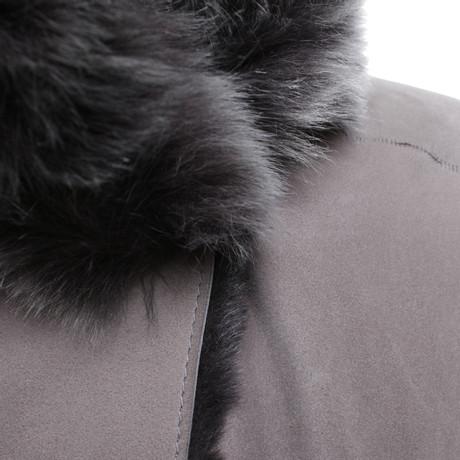 Rabatt Zahlen Mit Paypal Windsor Lammfellmantel in Grau Grau Verkauf Des Niedrigen Preises Günstig Kaufen Kauf Outlet-Store Zum Verkauf LBnzqDjYya