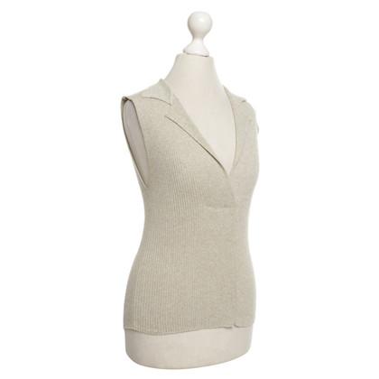 Max Mara top with collar