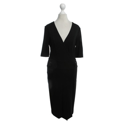 Strenesse Blue Tailliertes Kleid in Schwarz