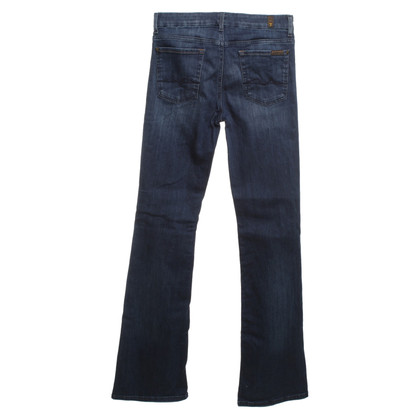 7 For All Mankind Bootcut jeans in dark blue