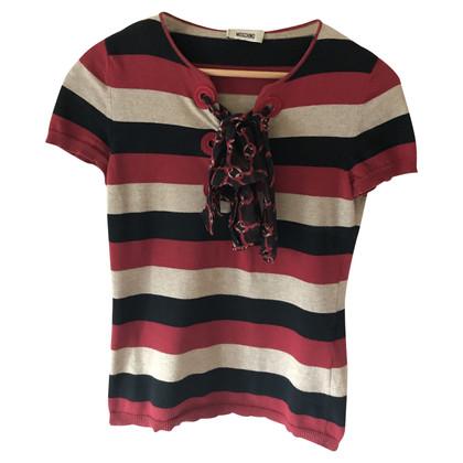 Moschino Sweater met strepenpatroon