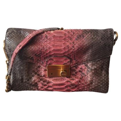 Prada Shoulder bag made of python leather