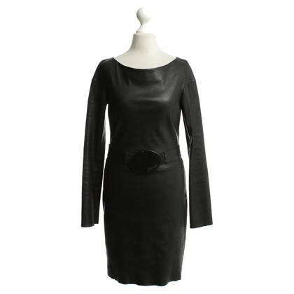 Jitrois Leather dress in black