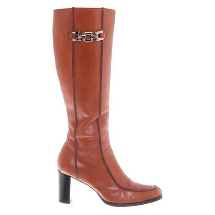 Hugo Boss Stivali di pelle
