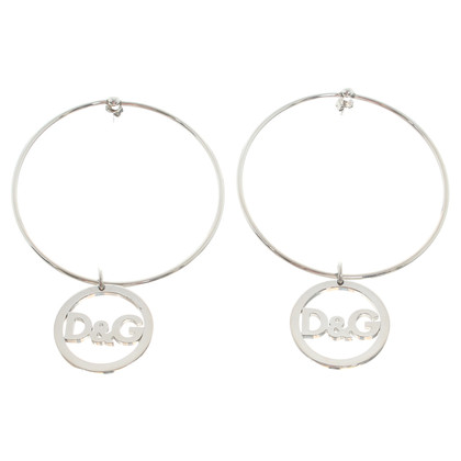 Dolce & Gabbana Silver hoop earrings