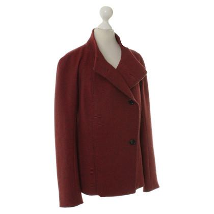 Max Mara Jacket red/black