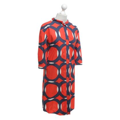 Marni Robe à motifs en tricolore