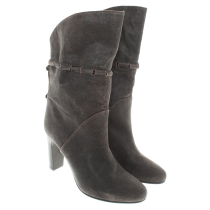Hugo Boss Ankle boots from suede