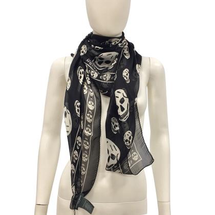 Alexander McQueen Zwarte sjaal