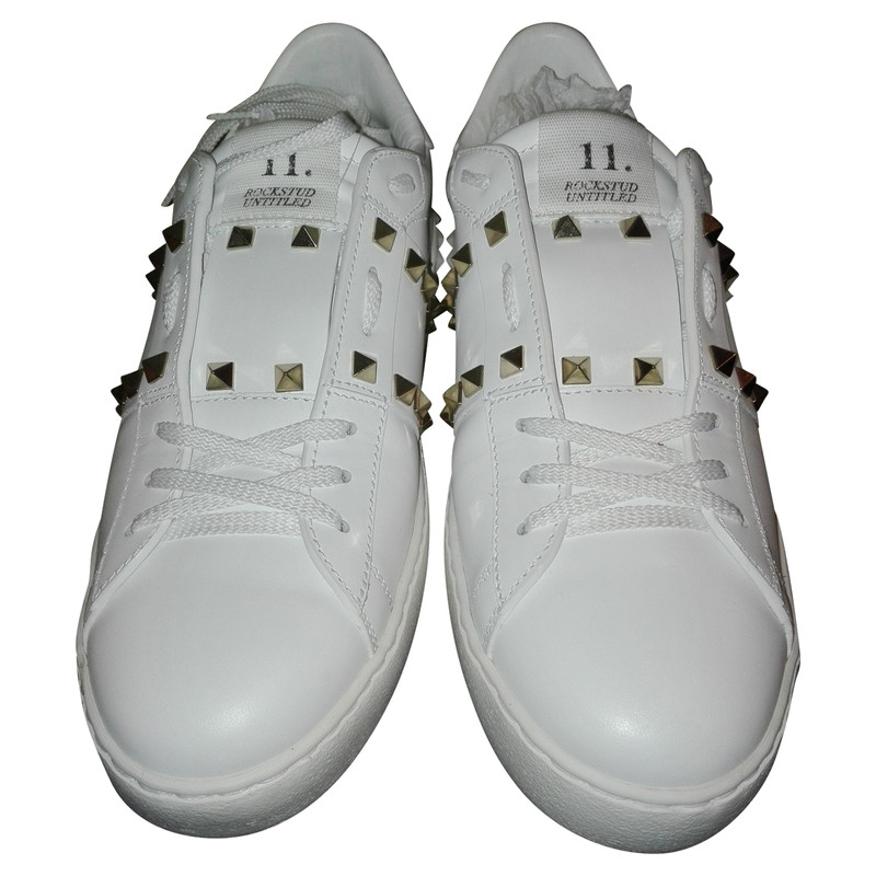Valentino Trainers Leather in White