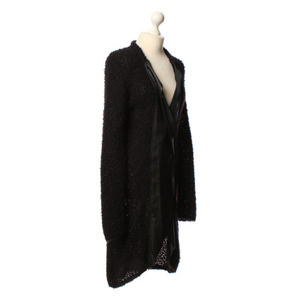 Lala Berlin Knitted Cardigan in black