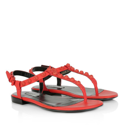 Balenciaga Sandals in red