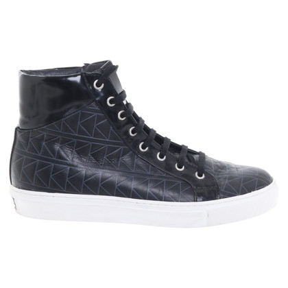 Karl Lagerfeld Lace up shoes with pattern