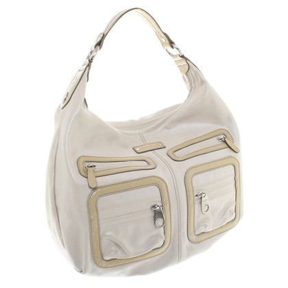 Hogan Leather handbag in beige